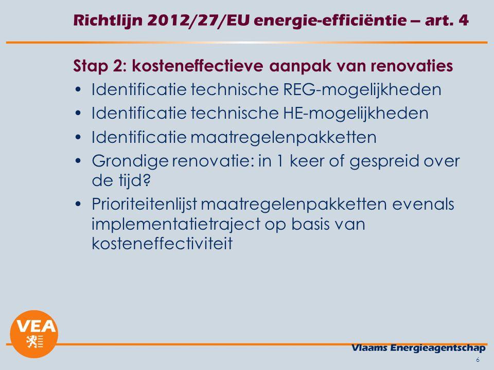 6 Richtlijn 2012/27/EU energie-efficiëntie – art.
