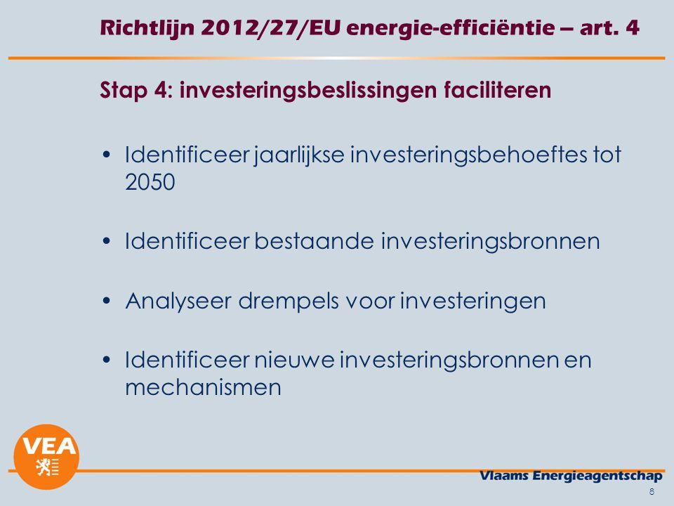 Richtlijn 2012/27/EU energie-efficiëntie – art.