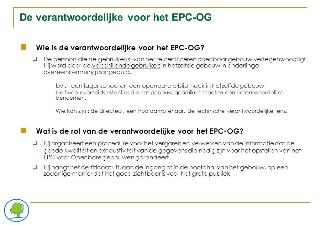 De Certificateur voor Openbare gebouwen Wie kan als certificateur voor openbare gebouwen erkend worden.