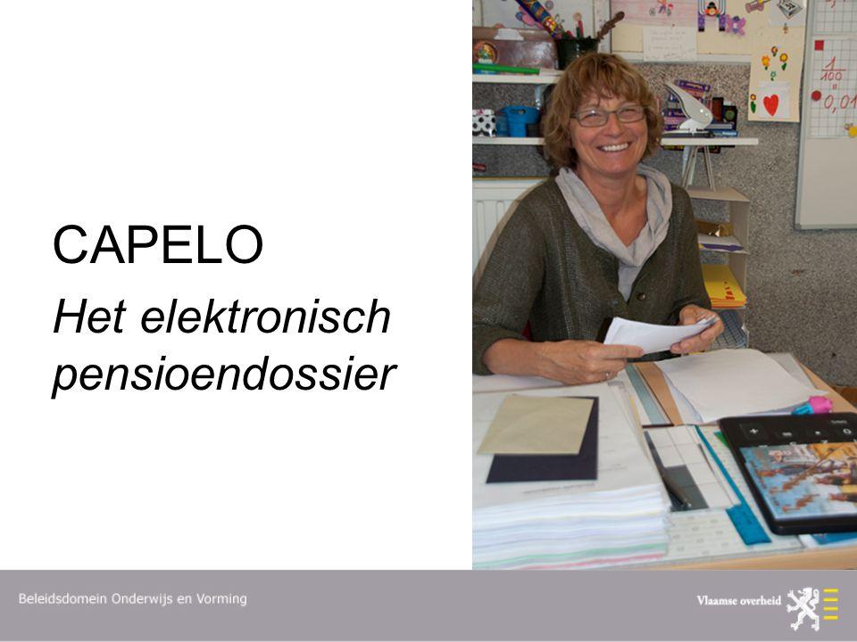 CAPELO Het elektronisch pensioendossier