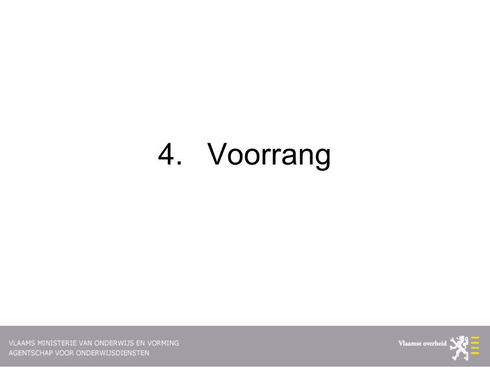 4.Voorrang