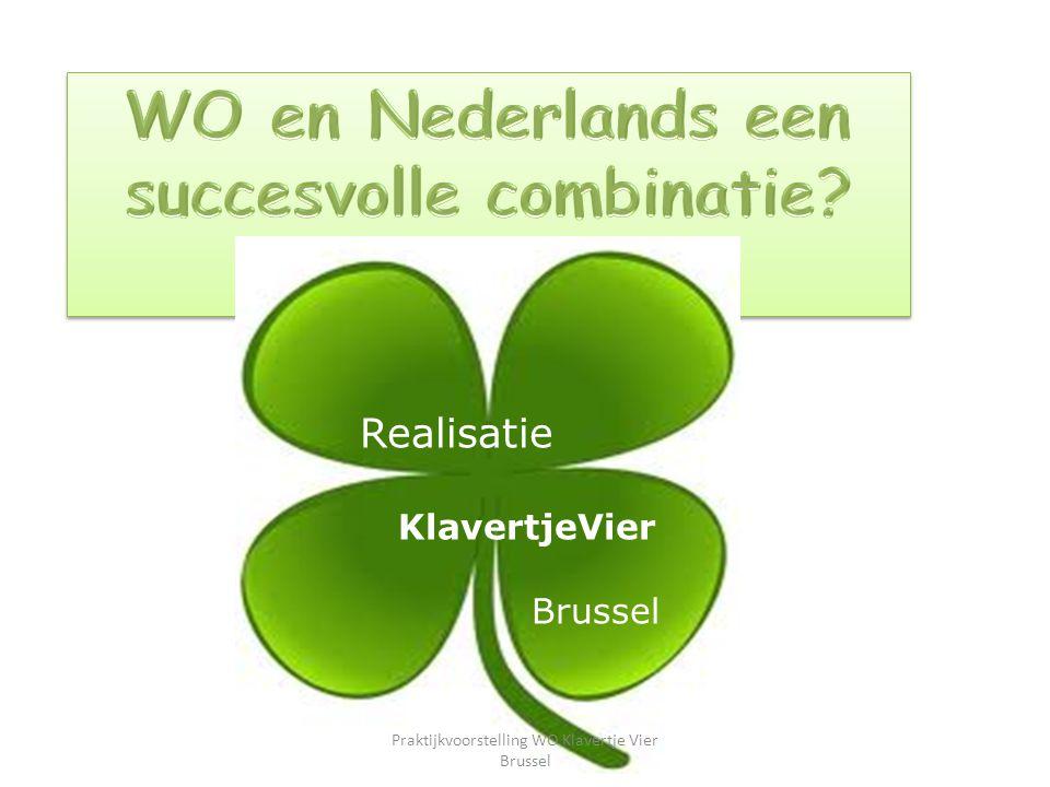 Realisatie KlavertjeVier Brussel Praktijkvoorstelling WO Klavertje Vier Brussel