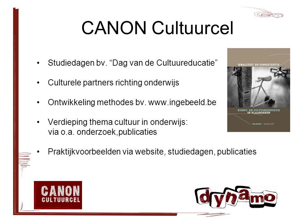 CANON Cultuurcel Studiedagen bv.