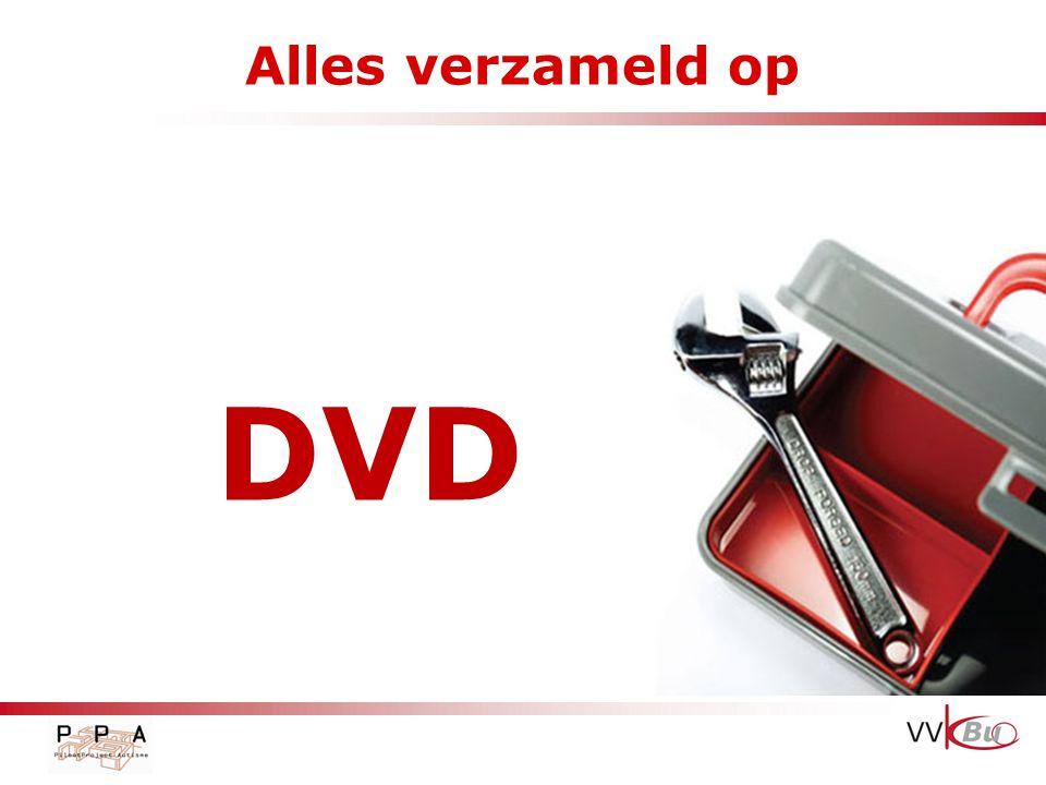 Alles verzameld op DVD