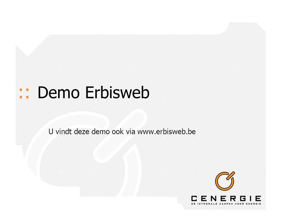 :: Demo Erbisweb U vindt deze demo ook via www.erbisweb.be