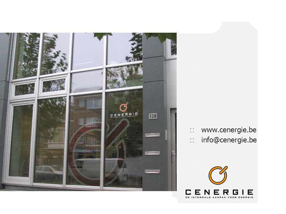 ∷ www.cenergie.be ∷ info@cenergie.be
