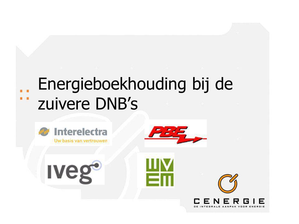 :: Energieboekhouding bij de zuivere DNB's