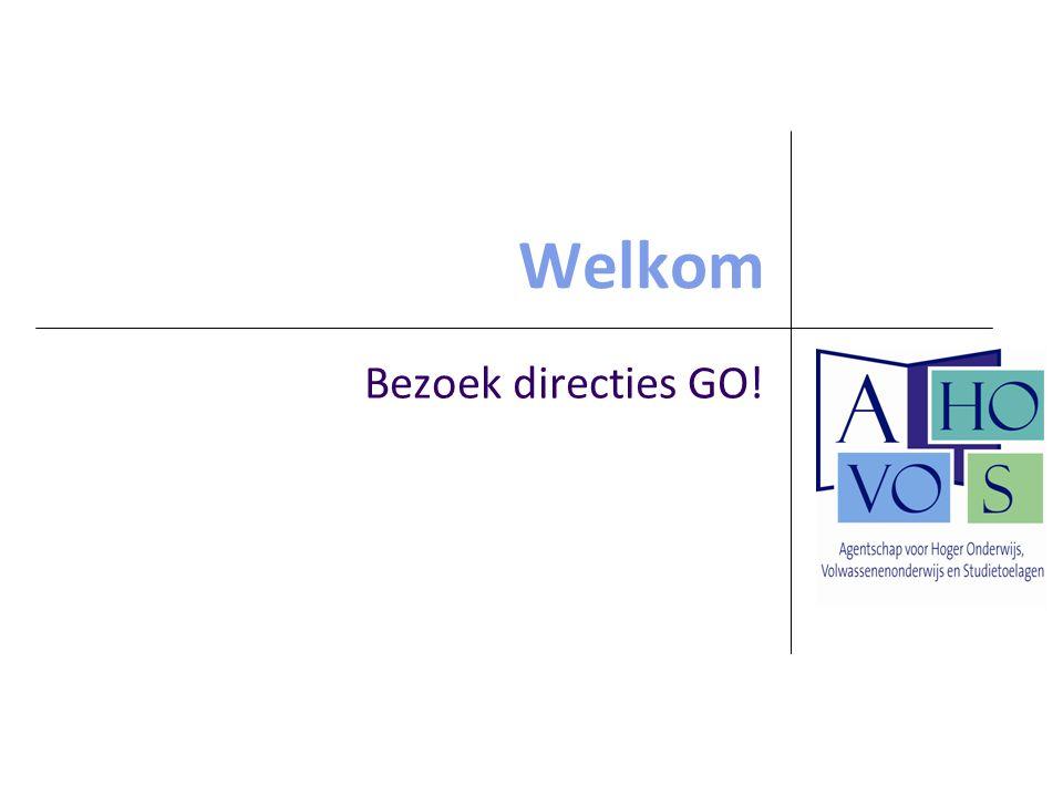2 Programma Voorstelling Beleidsdomein Onderwijs en Vorming Samenwerking met de Afdeling Kennismaking met de contactpersonen