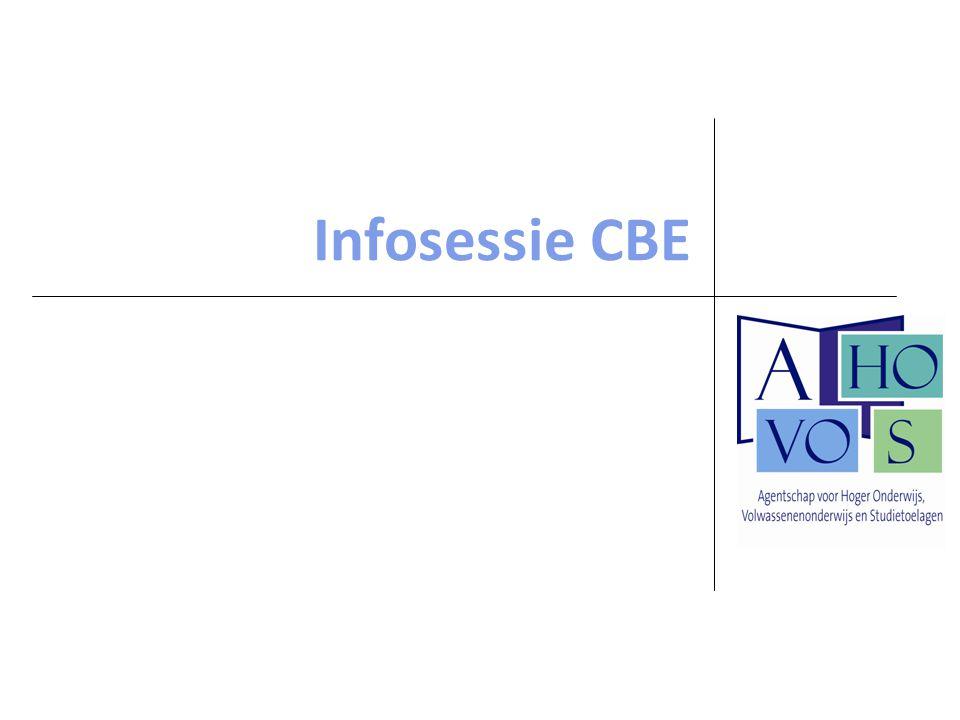 Infosessie CBE