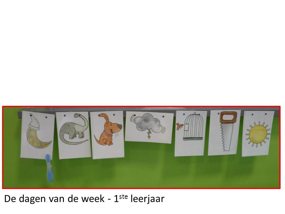 De dagen van de week - 1 ste leerjaar