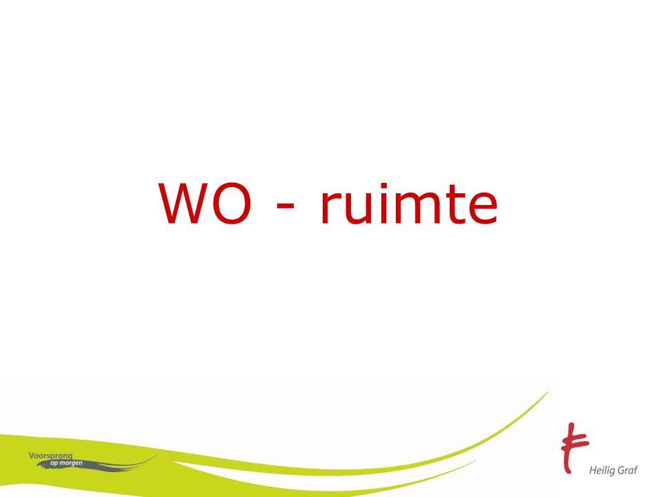 WO - ruimte