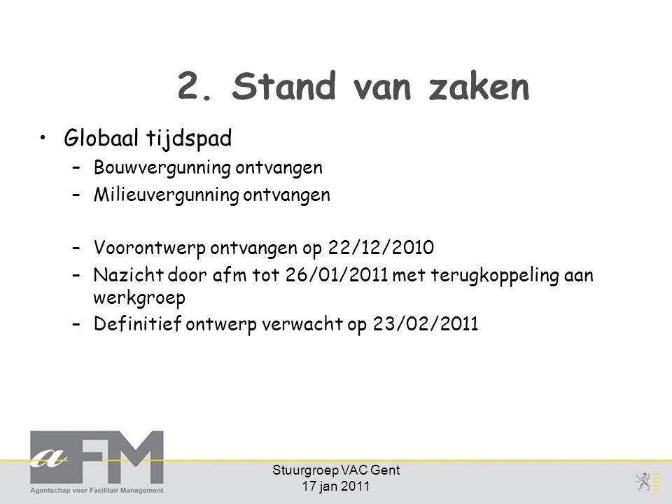 Stuurgroep VAC Gent 17 jan 2011 2.