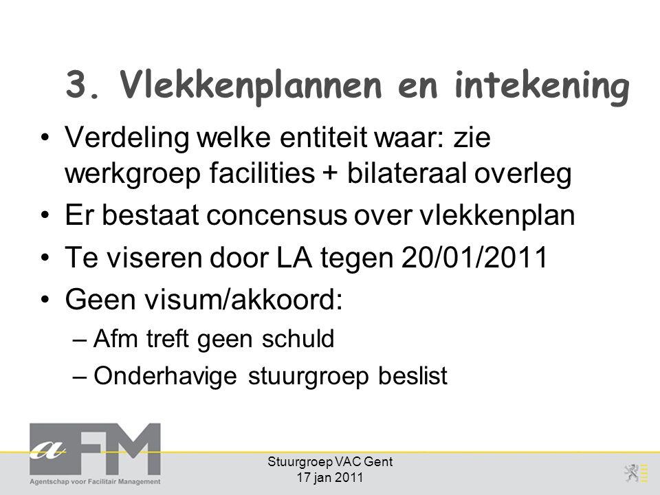 Stuurgroep VAC Gent 17 jan 2011 3.