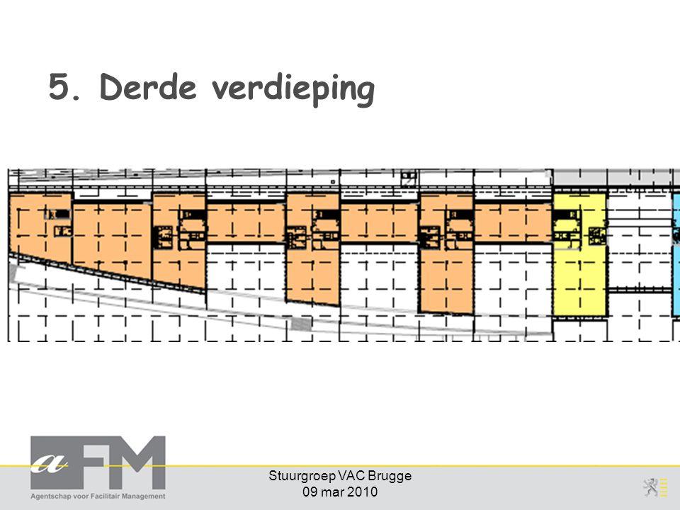 Stuurgroep VAC Brugge 09 mar 2010 5. Derde verdieping