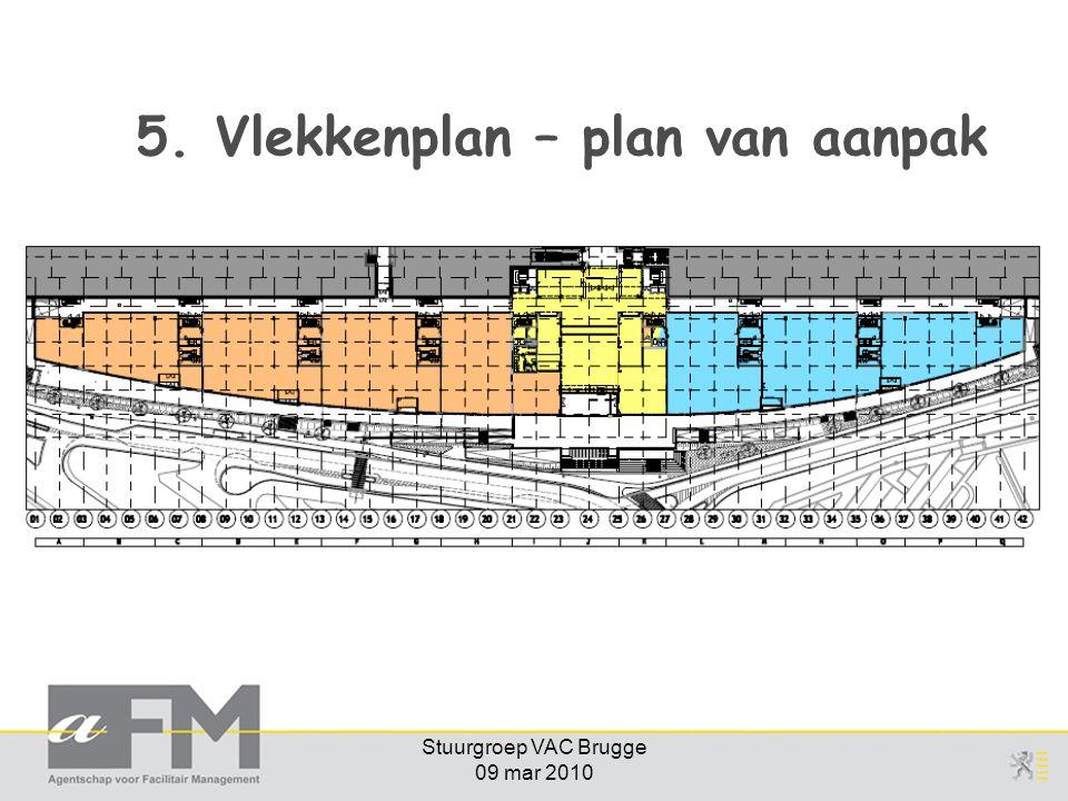 Stuurgroep VAC Brugge 09 mar 2010 5. Vlekkenplan – plan van aanpak