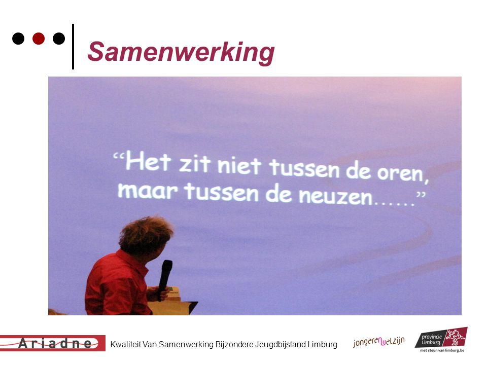 Kwaliteit Van Samenwerking Bijzondere Jeugdbijstand Limburg Samenwerking