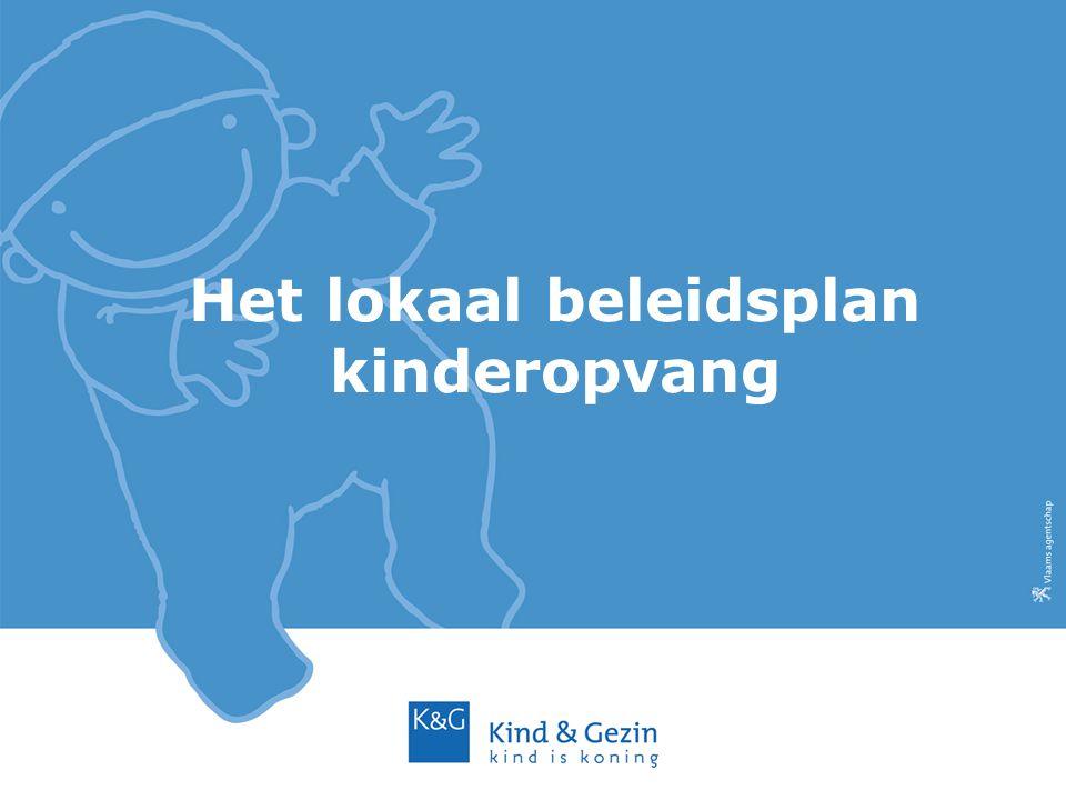 Het lokaal beleidsplan kinderopvang
