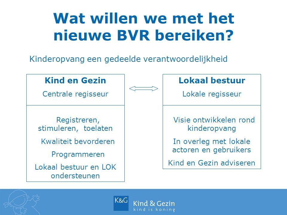 Wat willen we met het nieuwe BVR bereiken.