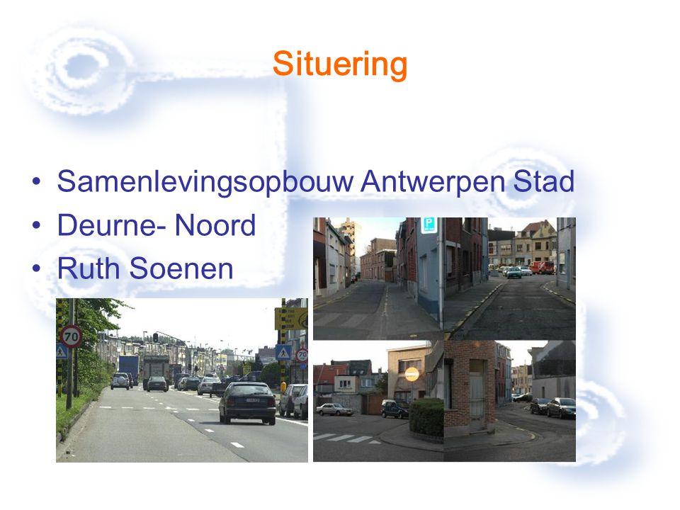 Situering Samenlevingsopbouw Antwerpen Stad Deurne- Noord Ruth Soenen