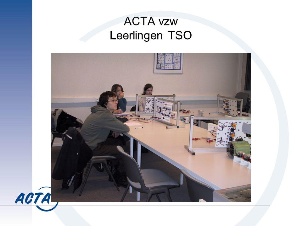 ACTA vzw Leerlingen TSO