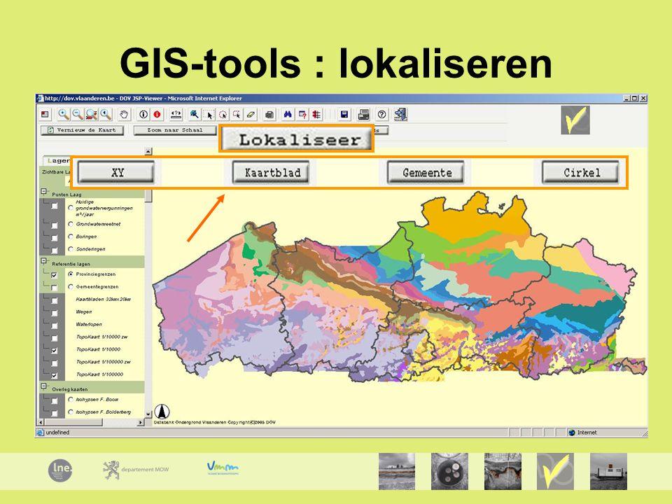 GIS-tools : lokaliseren