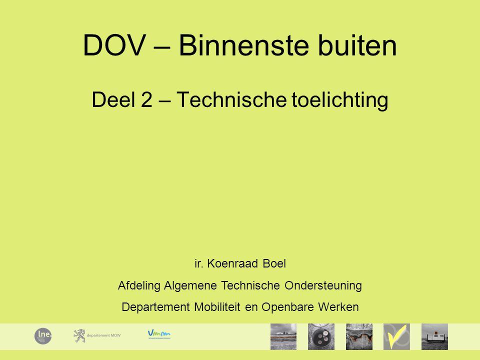 DOV – Binnenste buiten Deel 2 – Technische toelichting ir.