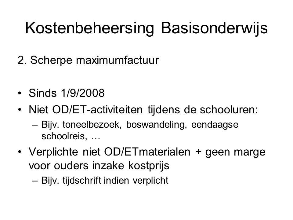 Kostenbeheersing Basisonderwijs 2.