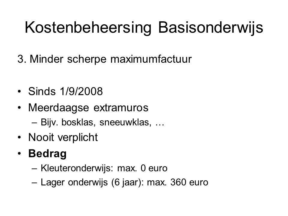 Kostenbeheersing Basisonderwijs 3.