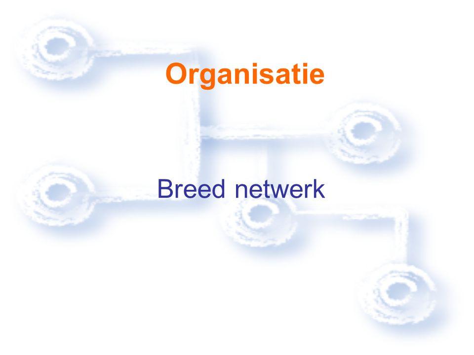 Organisatie Breed netwerk
