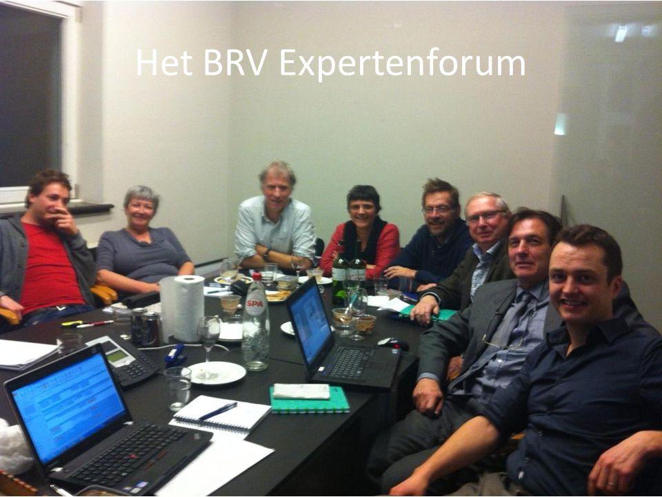 Het BRV Expertenforum