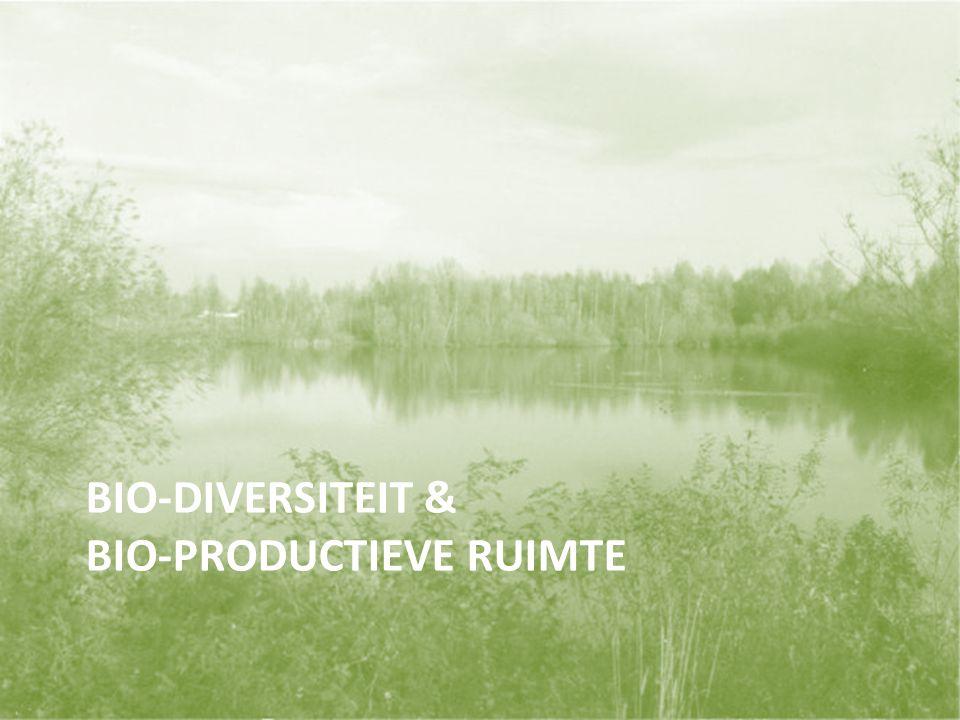 BIO-DIVERSITEIT & BIO-PRODUCTIEVE RUIMTE