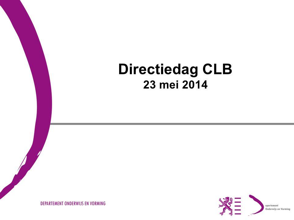 Directiedag CLB 23 mei 2014