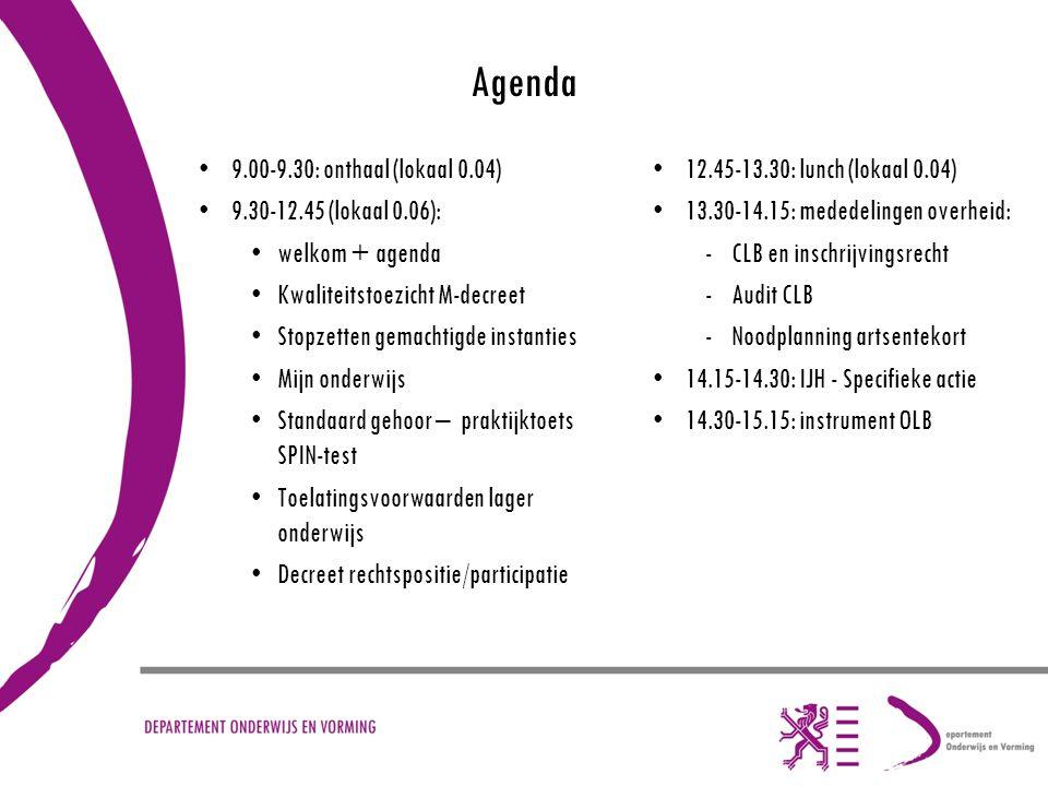Kwaliteitstoezicht in het kader van het M-decreet Veerle Inghelbrecht veerle.inghelbrecht@ond.vlaanderen.be