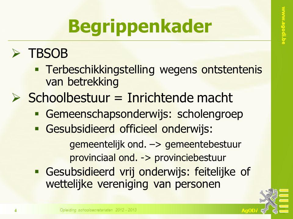 www.agodi.be AgODi  Scholengemeenschap ≠ scholengroep  Scholengroep bestaat enkel in het gemeenschapsonderwijs en is uw schoolbestuur.