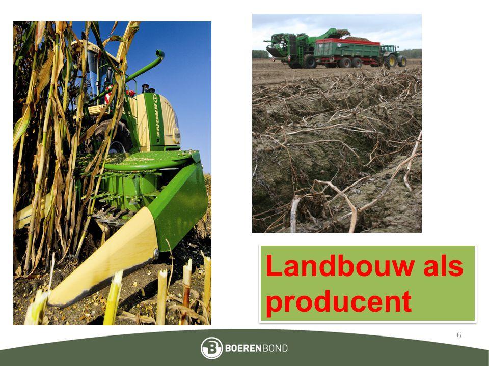 6 Landbouw als producent