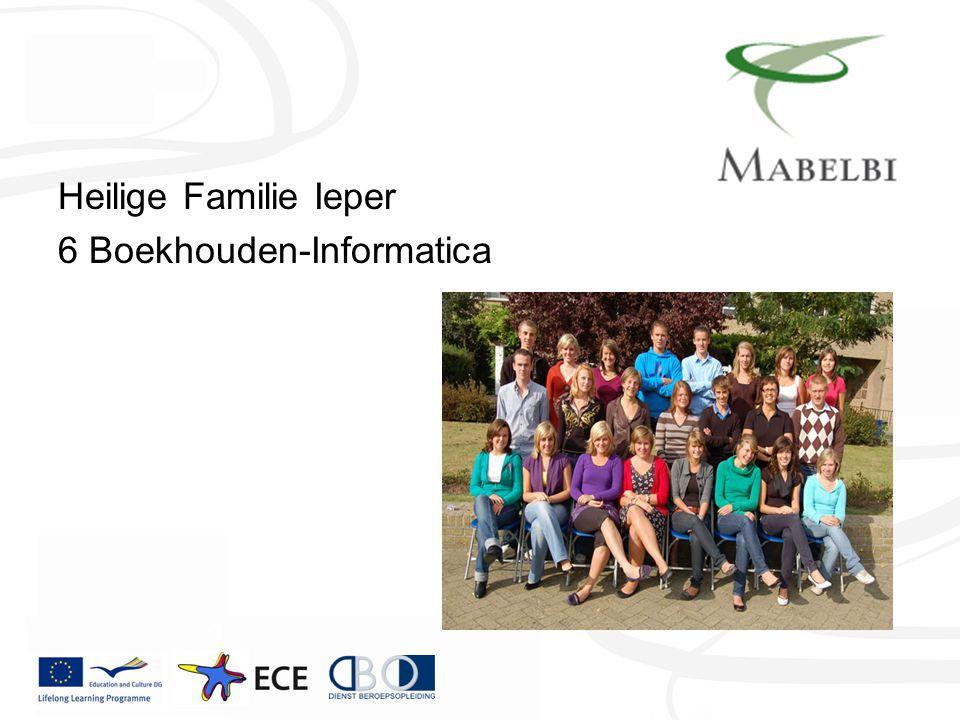 Heilige Familie Ieper 6 Boekhouden-Informatica