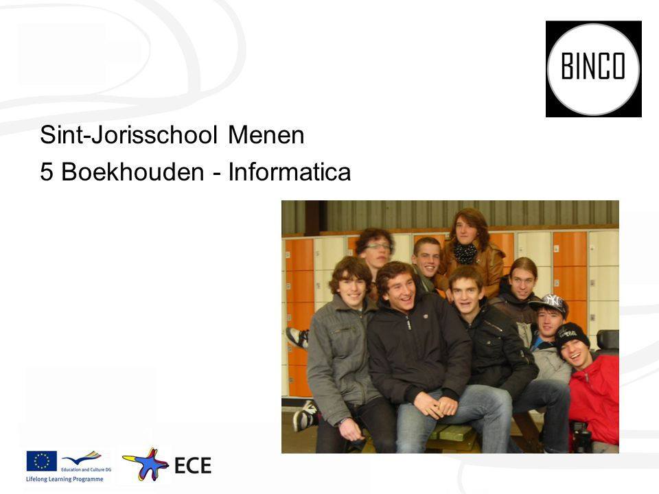 Sint-Jorisschool Menen 5 Boekhouden - Informatica