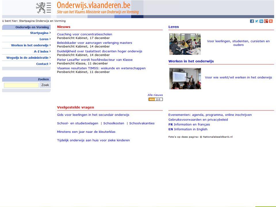 www.agodi.be AgODi opleiding schoolsecretariaten 2012 - 2013 7 4.