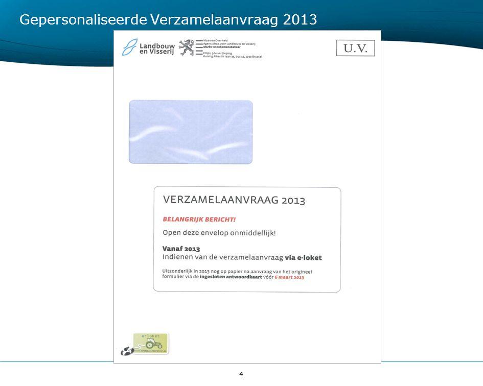 44 Gepersonaliseerde Verzamelaanvraag 2013