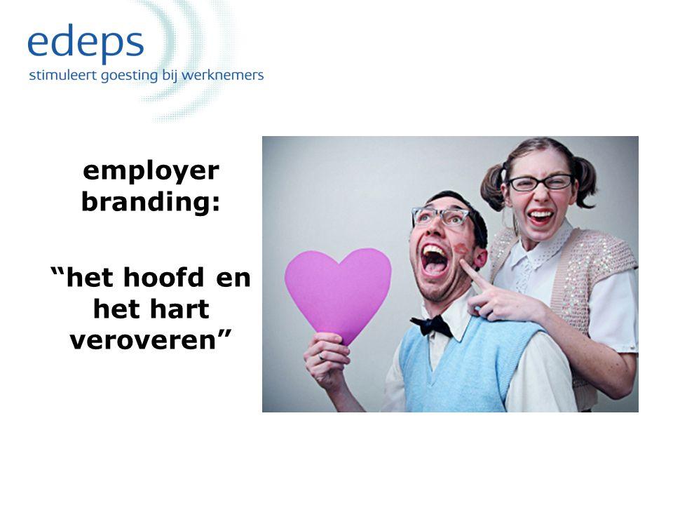 """employer branding: """"het hoofd en het hart veroveren"""""""