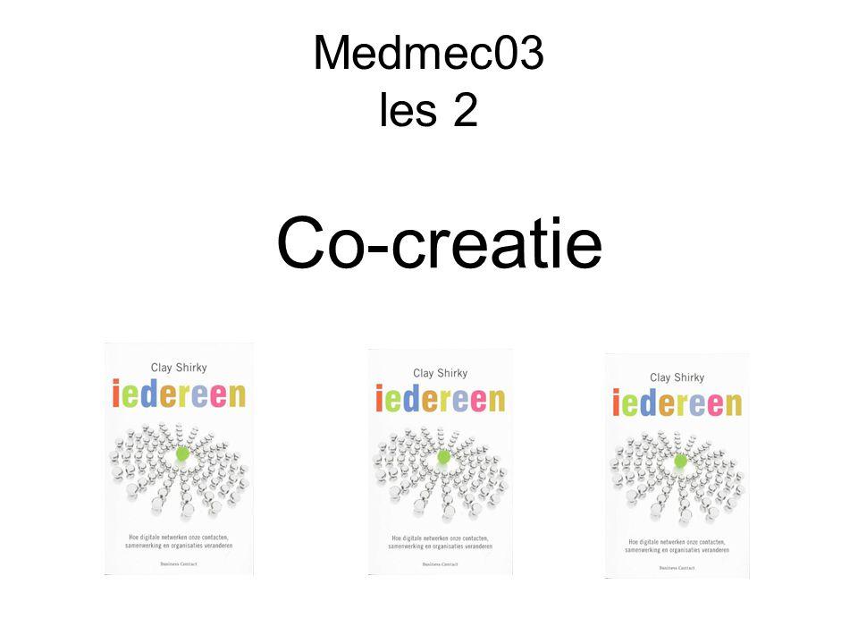 Medmec03 les 2 Co-creatie