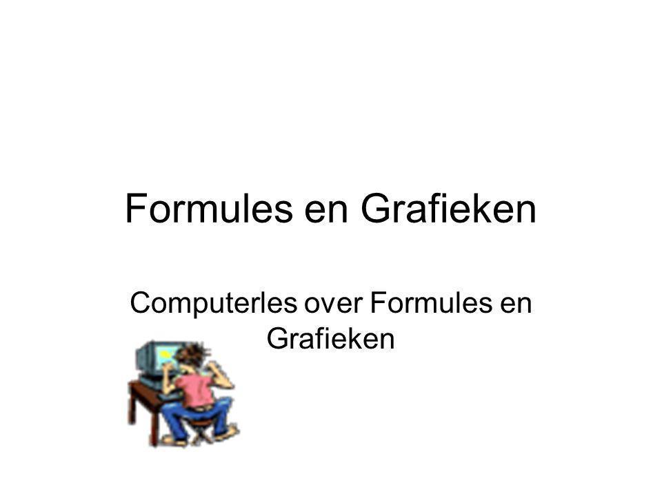 Formules en Grafieken Computerles over Formules en Grafieken