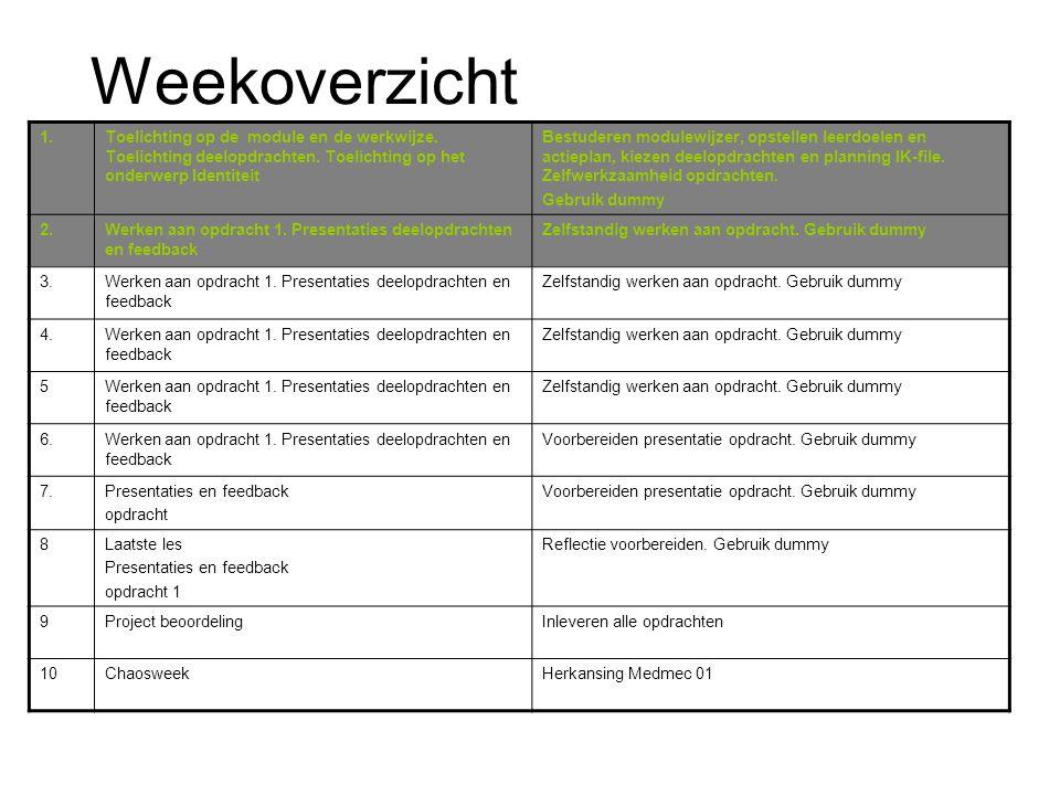Agenda Wat is er in het nieuws? Presentaties over Dummy Zelfstandig werken aan IK-file Huiswerk
