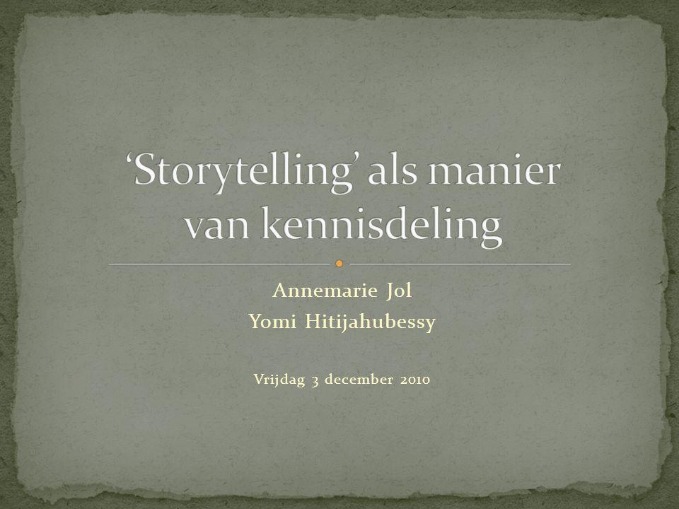 Annemarie Jol Yomi Hitijahubessy Vrijdag 3 december 2010