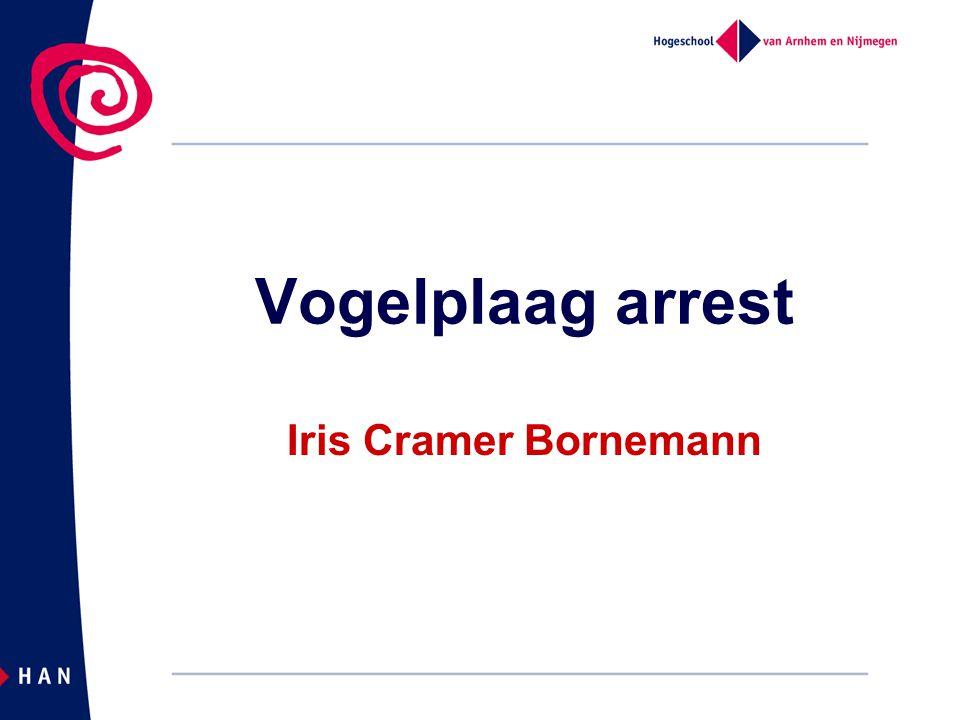 Vogelplaag arrest Iris Cramer Bornemann