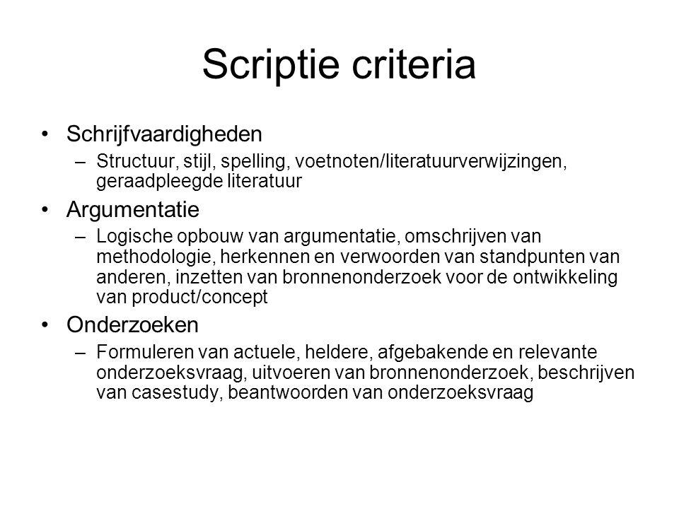 Scriptiehulp Feijen,E.& Trietsch, P., Snel afstuderen.