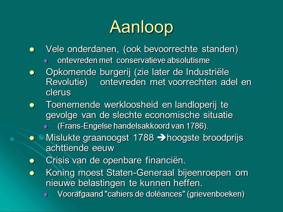 1799-1804: Consulaat Dit systeem is een soort nep- democratisch systeem.