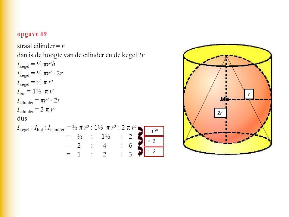 Bol I bol = 1⅓ π r³