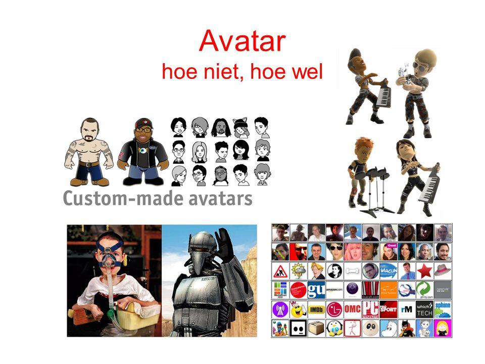 Avatar hoe niet, hoe wel