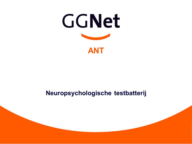 ANT Neuropsychologische testbatterij